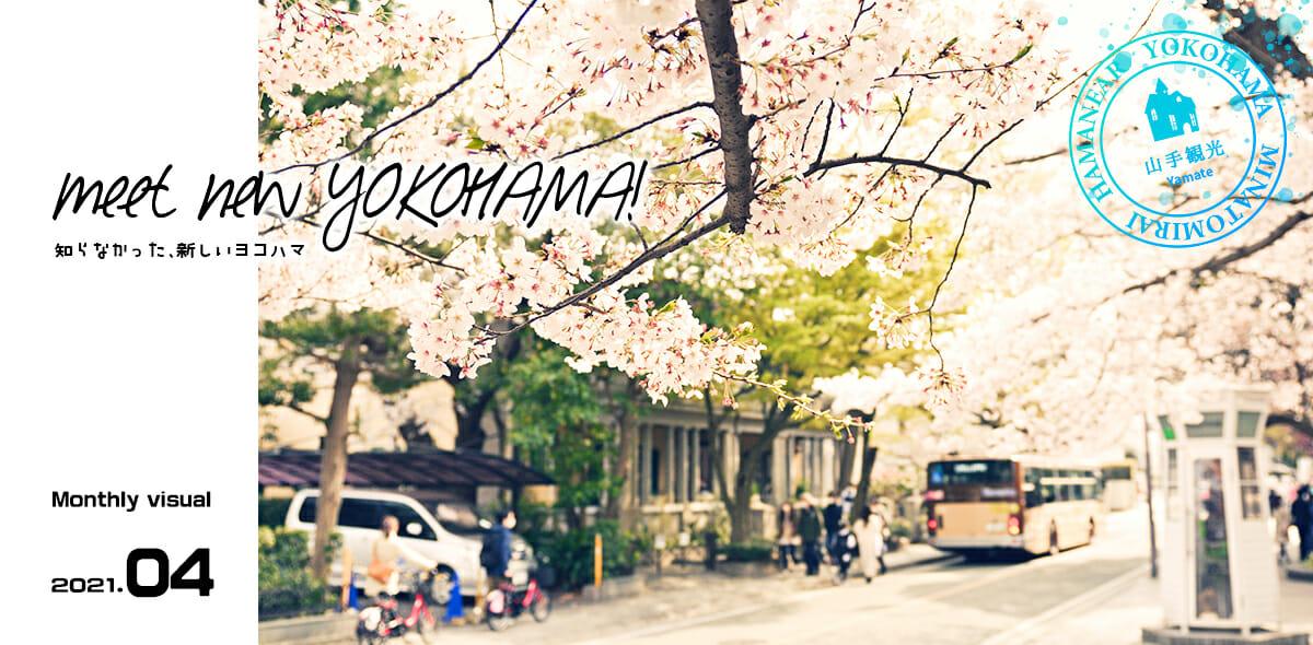 今月の横浜・みなとみらいカバー|山手観光